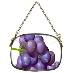 Grape Fruit Chain Purses (two Sides)  by Mariart