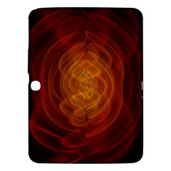 High Res Nostars Orange Gold Samsung Galaxy Tab 3 (10 1 ) P5200 Hardshell Case  by Mariart