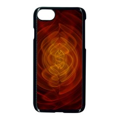 High Res Nostars Orange Gold Apple Iphone 7 Seamless Case (black) by Mariart