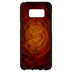 High Res Nostars Orange Gold Samsung Galaxy S8 Black Seamless Case by Mariart
