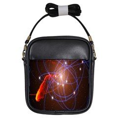 Highest Resolution Version Space Net Girls Sling Bags by Mariart