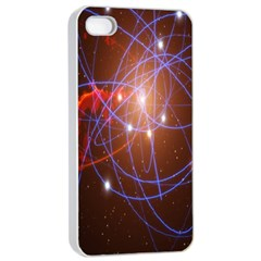 Highest Resolution Version Space Net Apple Iphone 4/4s Seamless Case (white) by Mariart