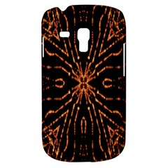 Golden Fire Pattern Polygon Space Galaxy S3 Mini by Mariart