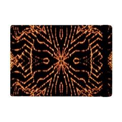 Golden Fire Pattern Polygon Space Ipad Mini 2 Flip Cases by Mariart