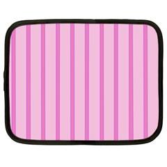 Line Pink Vertical Netbook Case (xl)