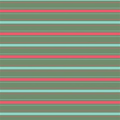 Horizontal Line Red Green Canvas 20  X 20   by Mariart