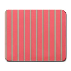 Line Red Grey Vertical Large Mousepads by Mariart