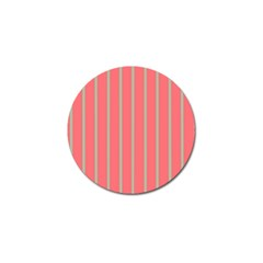 Line Red Grey Vertical Golf Ball Marker by Mariart