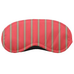 Line Red Grey Vertical Sleeping Masks by Mariart
