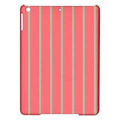 Line Red Grey Vertical Ipad Air Hardshell Cases by Mariart