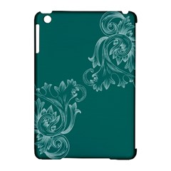 Leaf Green Blue Sexy Apple Ipad Mini Hardshell Case (compatible With Smart Cover) by Mariart