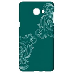 Leaf Green Blue Sexy Samsung C9 Pro Hardshell Case  by Mariart