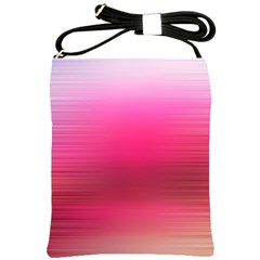 Line Pink Space Sexy Rainbow Shoulder Sling Bags by Mariart
