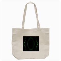 Green Foam Waves Polygon Animation Kaleida Motion Tote Bag (cream) by Mariart
