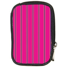 Pink Line Vertical Purple Yellow Fushia Compact Camera Cases by Mariart