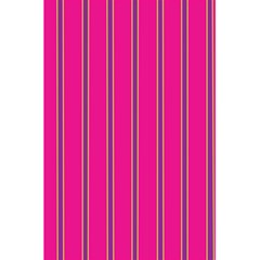 Pink Line Vertical Purple Yellow Fushia 5 5  X 8 5  Notebooks by Mariart