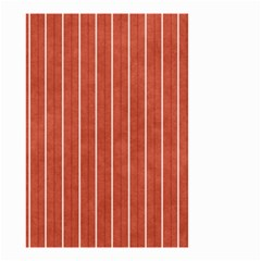 Line Vertical Orange Small Garden Flag (two Sides) by Mariart