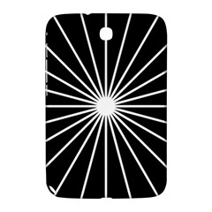 Ray White Black Line Space Samsung Galaxy Note 8 0 N5100 Hardshell Case