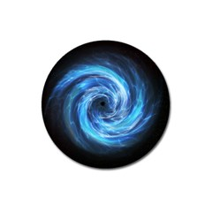 Hole Space Galaxy Star Planet Magnet 3  (round) by Mariart