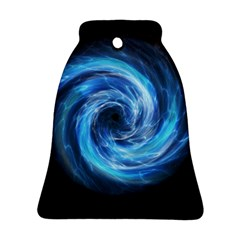 Hole Space Galaxy Star Planet Ornament (bell) by Mariart