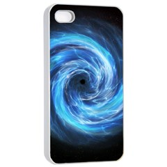 Hole Space Galaxy Star Planet Apple Iphone 4/4s Seamless Case (white) by Mariart