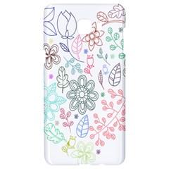 Prismatic Neon Floral Heart Love Valentine Flourish Rainbow Samsung C9 Pro Hardshell Case  by Mariart
