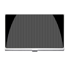 Space Line Grey Black Business Card Holders by Mariart