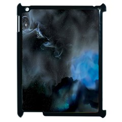 Space Star Blue Sky Apple Ipad 2 Case (black) by Mariart
