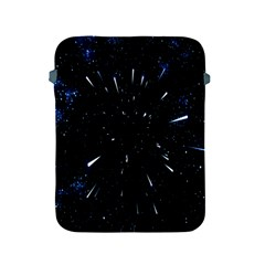 Space Warp Speed Hyperspace Through Starfield Nebula Space Star Line Light Hole Apple Ipad 2/3/4 Protective Soft Cases by Mariart