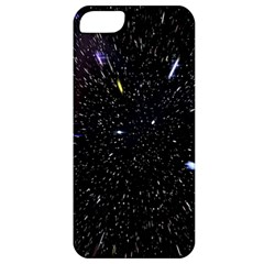 Space Warp Speed Hyperspace Through Starfield Nebula Space Star Hole Galaxy Apple Iphone 5 Classic Hardshell Case by Mariart
