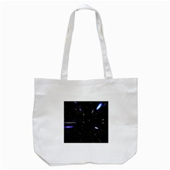 Space Warp Speed Hyperspace Through Starfield Nebula Space Star Hole Galaxy Tote Bag (white) by Mariart