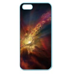 Sun Light Galaxy Apple Seamless Iphone 5 Case (color) by Mariart