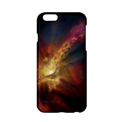 Sun Light Galaxy Apple Iphone 6/6s Hardshell Case by Mariart