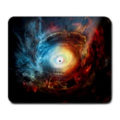 Supermassive Black Hole Galaxy Is Hidden Behind Worldwide Network Large Mousepads by Mariart