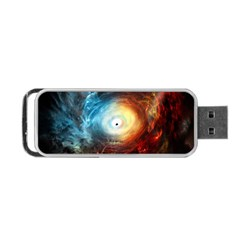 Supermassive Black Hole Galaxy Is Hidden Behind Worldwide Network Portable Usb Flash (one Side) by Mariart