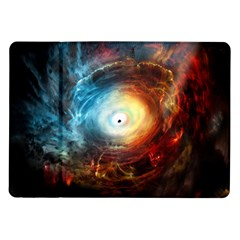 Supermassive Black Hole Galaxy Is Hidden Behind Worldwide Network Samsung Galaxy Tab 10 1  P7500 Flip Case by Mariart