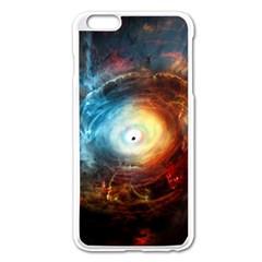 Supermassive Black Hole Galaxy Is Hidden Behind Worldwide Network Apple Iphone 6 Plus/6s Plus Enamel White Case by Mariart