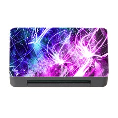 Space Galaxy Purple Blue Memory Card Reader With Cf by Mariart