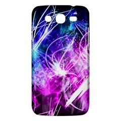 Space Galaxy Purple Blue Samsung Galaxy Mega 5 8 I9152 Hardshell Case  by Mariart