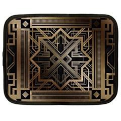 Art Nouveau Netbook Case (xxl)  by 8fugoso