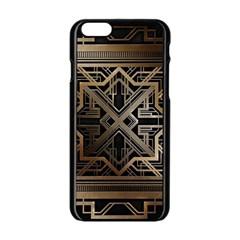 Art Nouveau Apple Iphone 6/6s Black Enamel Case by 8fugoso