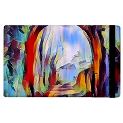 Abstract Tunnel Apple Ipad 2 Flip Case by 8fugoso