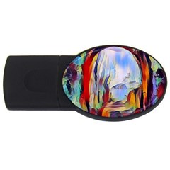 Abstract Tunnel Usb Flash Drive Oval (4 Gb) by 8fugoso