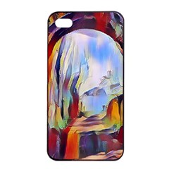 Abstract Tunnel Apple Iphone 4/4s Seamless Case (black) by Love888