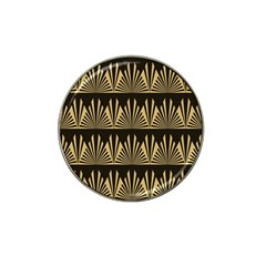 Art Deco Hat Clip Ball Marker