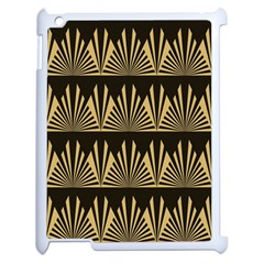 Art Deco Apple Ipad 2 Case (white) by 8fugoso