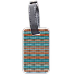 Winter Pattern 1 Luggage Tags (one Side)  by tarastyle