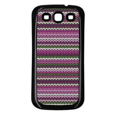 Winter Pattern 2 Samsung Galaxy S3 Back Case (black) by tarastyle