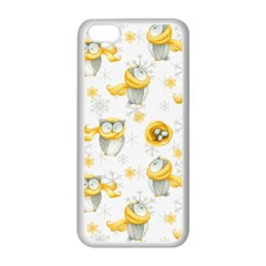 Winter Pattern 6 Apple Iphone 5c Seamless Case (white) by tarastyle