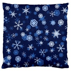 Winter Pattern 8 Large Cushion Case (one Side) by tarastyle